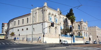 Het Historische Stadhuis van Jeruzalem royalty-vrije stock foto