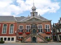 Het historische stadhuis van Vlaardingen Royalty-vrije Stock Afbeelding