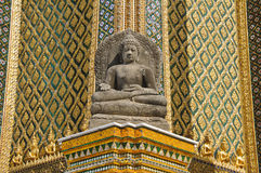 Het historische standbeeld van Boedha Stock Foto's