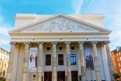 Het historische Theater van Aken in Aken, Duitsland stock afbeeldingen