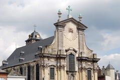 Het historische uilding in Mechelen stock foto's
