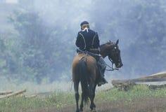 Het historische weer invoeren van de Slag die van Manassas, het begin van de Burgeroorlog, Virginia merken Stock Afbeeldingen