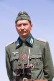 Het historische weer invoeren van WO.II in Kiev, de Oekraïne Royalty-vrije Stock Afbeelding