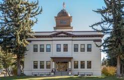 Het historische White Pine-Gerechtsgebouw van de Provincie Royalty-vrije Stock Foto's