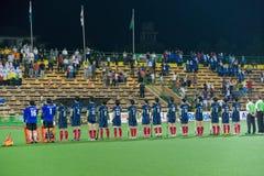 Het Hockey van de Kop van Azië van mensen 2009 Kampioenen Royalty-vrije Stock Foto's