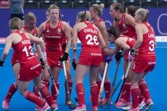 Het Hockeykop 2018 van de vrouwen` s Wereld royalty-vrije stock fotografie