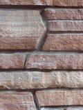 Het hoekige Metselwerk van de Steen Stock Afbeeldingen
