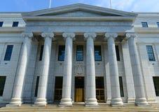 Het Hof van appel die van New York, Albany, NY, de V.S. bouwen royalty-vrije stock afbeelding