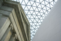 Het Hof van British Museum de Grote Architectuur van Londen Royalty-vrije Stock Fotografie