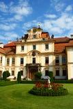 Het hof van Chateau Royalty-vrije Stock Foto