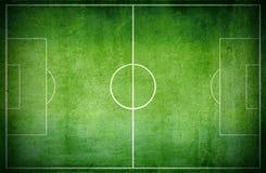 Het hof van de voetbal Stock Foto's