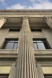Het hof van de wet zoals de Romaanse bouw Stock Afbeelding