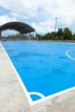 Het hof van Futsal Stock Foto's