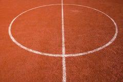 Het hof van het basketbal Stock Foto