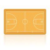 Het Hof van het basketbal. Vector. stock illustratie