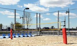Het hof van het volleyball. Royalty-vrije Stock Foto