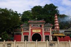 Het Hof van Macao Mazu stock fotografie