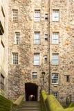 Het Hof van Milne, Edinburgh stock foto