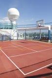 Het hof van sporten Stock Foto