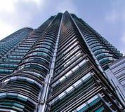 Het hoge gebouw Royalty-vrije Stock Afbeeldingen