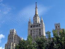 Het hoge hotel van Moskou Stock Afbeeldingen