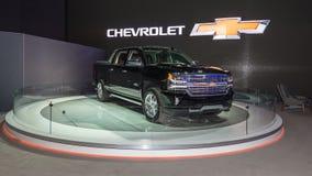 2017 het Hoge Land van Chevrolet Silverado Royalty-vrije Stock Foto's