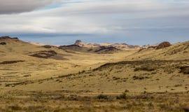 Het hoge Landschap van de Woestijn royalty-vrije stock foto's