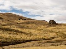 Het hoge Landschap van de Woestijn stock fotografie