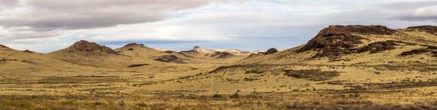 Het hoge Landschap van de Woestijn royalty-vrije stock fotografie