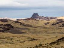 Het hoge Landschap van de Woestijn stock afbeeldingen