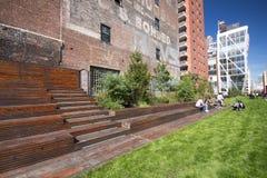 Het hoge Park NYC van de Lijn Royalty-vrije Stock Foto's