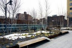 Het hoge park van de Lijn in New York Royalty-vrije Stock Afbeelding