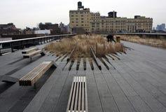 Het hoge park van de Lijn in New York Royalty-vrije Stock Foto