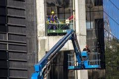 Het hoge stijging de bouw uitgaan Stock Afbeelding
