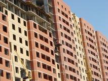 Het hoge stijging de bouw uitgaan Stock Foto's