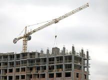 Het hoge stijging de bouw uitgaan Royalty-vrije Stock Foto