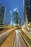 Het hoge Stijgings moderne bureau buiding in Hong Kong royalty-vrije stock foto