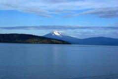 Het hogere Meer van Klamath, Zuid- Centraal Oregon, de V.S. stock afbeeldingen