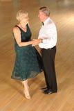 Het hogere paar dansen Royalty-vrije Stock Fotografie