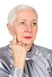 Het hogere Portret van de Vrouw royalty-vrije stock foto's