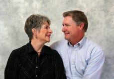 Het hogere Portret van het Paar Royalty-vrije Stock Afbeelding