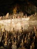 Het hol van Boedha stock afbeelding