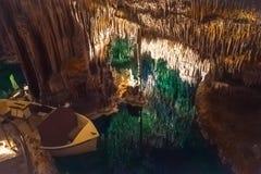 Het hol van de Drachdraak van Mallorca royalty-vrije stock foto's