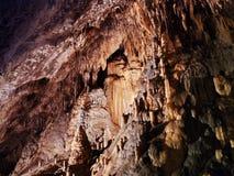 Het hol van de stalactiet stock fotografie