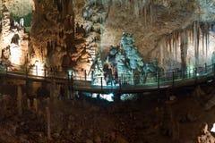 Het hol van de stalactiet Royalty-vrije Stock Foto