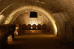 Het hol van de wijn royalty-vrije stock foto's