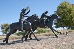 Het honderdjarige Land stelt Monument in werking Stock Foto's