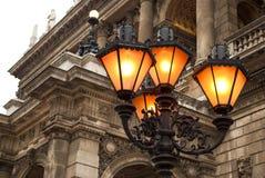 Het Hongaarse Huis van de Opera van de Staat in Boedapest Royalty-vrije Stock Fotografie