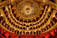 Het Hongaarse Huis van de Opera van de Staat in Boedapest stock foto's