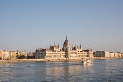 Het Hongaarse parlement. Stock Foto's